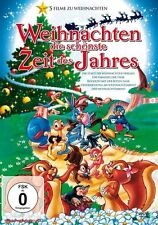 Weihnachten - Die schönste Zeit des Jahres 5 Trickfilme  DVD/NEU/OVP