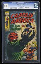 Captain America #115 CGC GD/VG 3.0 Cream To Off White Marvel Comics