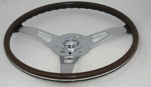 NEW 1970-71 E-Body Rim Blow Steering Wheel