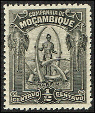 Scott # 110 - 1918 -'  Man and Ivory Tusk '
