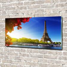 Acrylglas-Bild Wandbilder Druck 140x70 Deko Sehenswürdigkeiten Eiffelturm Paris