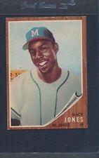 1962 Topps #186 Mack Jones Braves VG/EX *965