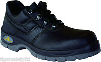 Delta Plus Panoply Jet 2 S1 Black Leather Mens Safety Toe Cap Shoes Work Shoes