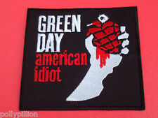 GREEN DAY AMERICAN IDIOT GRENADE FIST SEW/IRON ON PATCH (Smaller Size 2017)