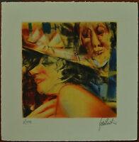 Remo SQUILLANTINI PERSONAGGI  litografia 1987 firmata numerata su 175 esemplari