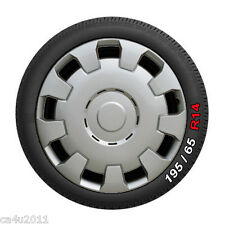 "14"" Wheel Trims Hub Caps Covers to fit Vauxhall  Corsa, Astra. Set of 4 WT123-14"