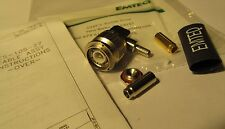 EMTEQ TMR130-1 RIGHT ANGLE PLUG/CONNECTOR/ADAPTER TNC 90° CESSNA/AVIATION/ RADIO