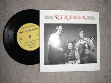 """KINFOLK A RARE SELF TITLE 7"""" EP 1977 EXC 33rpm"""