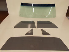 Glass Set El Camino GB Windshield Grey Vent Door Back 68 69 70 71 72 Pickup