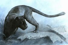 'Khan', Black Panther Print, Open Edition, New Aug 2012
