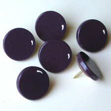 HAND PAINTED GRAPES PURPLE WINE PUSH PINS TACKS BULLETIN MEMO MEMORY CORK BOARD