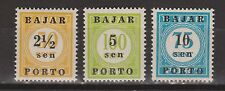 Indonesia Indonesie port nr 1-3 MNH PF due portzegel 1950