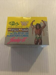 The History of Wrestlemania WWF 1990 Complete Box Set 150 Trading Cards Series 2