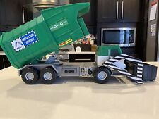 2011 Tonka Garbage Waste Management Truck-Lights/Sounds-Bin Moves Up/down Tested