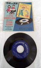 """7"""" 45 Picture Sleeve ROMPER ROOM Laughing Book GOLDEN"""