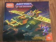 Mega Construx Masters Of The Universe Wind Raider Attack 198 Pieces He-Man