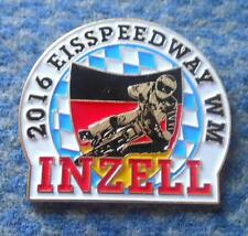 FINAL WORLD CHAMPIONSHIPS ICE SPEEDWAY INZELL GERMANY 2016 PIN BADGE