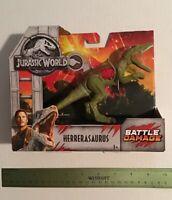 Mattel Jurassic World Fallen Kingdom Battle Damage Herrerasaurus Dinosaur