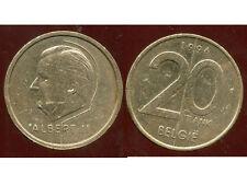 BELGIQUE 20 francs 1996   ( belgie )