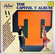 "12"" Vinyl THE CAPITOL T ALBUM - Dean Martin, Peggy Lee, Nat King Cole u.a."