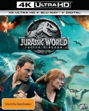 Jurassic World - Fallen Kingdom (Blu-ray, 2018, 2-Disc Set)