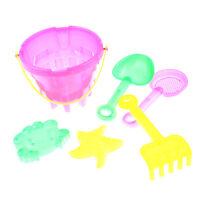 5pcs Kid Outdoor Beach Sand Tools Toys Bucket Svel Set Baby Play sand THFUK U_X