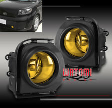 08 09 10 SCION XB FRONT BUMPER DRIVING FOG LIGHTS LAMP YELLOW W/HARNESS+SWITCH