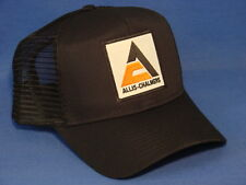 Allis Chalmers Hat - Black Mesh - High Crown - AC Tri Logo