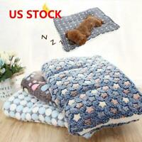 S-XL Cute Dog Cat Pet Soft Bed Mat Pillow Cushion Mattress Small Medium Large US
