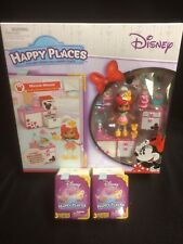 DISNEY SHOPKINS HAPPY PLACES MINNIE MOUSE WAFFLE THEME PACK + 4 BLIND BAG