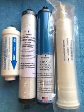 MICROLINE TFC 4 R.O. TFC-435 Pre & Post Filters w/ polishing and Membrane set
