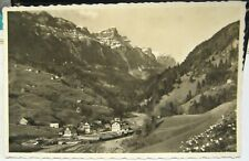 Switzerland Stalden am Pragelpass mit Drusberg - unposted