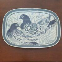 Vintage Porcelain Platter Suisse Langethal Serving Dish Nice!