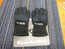 Columbia Fleece Gloves Warm Women's Medium Black Excellent Pre Owned Condition