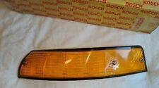PORSCHE 911 T E S RS 912 NOS TURN SIGNAL LIGHT LENS LEFT 91163194700 BOSCH logo