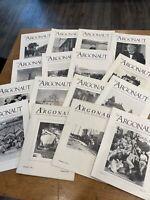 Lot/16 Argonaut Magazine Journal of the San Francisco Historical Society '90 '91