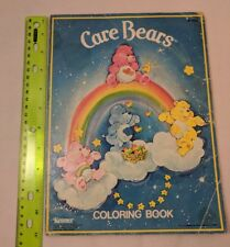 1982 General Mills Care Bears Coloring Book VIntage USED