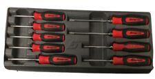 Snap-on 9 Piece Red Torx Screwdriver Set