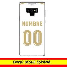 Funda Movil Cases Samsung Camiseta Futbol Compatible con Madrid Nombre Numero
