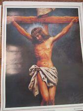 """Jesus Helguera """"Ofrendo su Vida por una Humanidad Mejor""""  #499 15.75"""" X 20.5"""""""