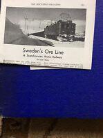 m9-2 ephemera 1955 article sweden ore line kiruna