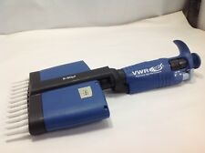 VWR Ergonomic high-performance Pipette 12 Channel Adjustable 5-50L #144