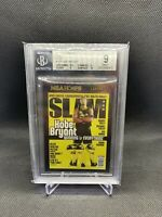2020-21 NBA hoops Kobe Bryant slam Gold holo #19 BGS 9 (PSA 10?)