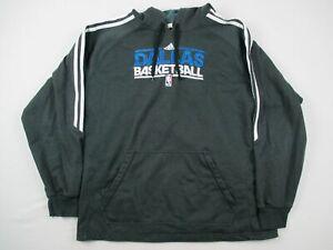Dallas Mavericks adidas Sweatshirt Men's Gray Poly Used 2XL
