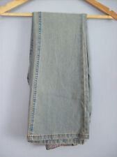 Jeans Ladies Faded Jeans with Embroidered Rear Pockets by Cherokee Size 8
