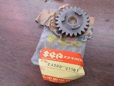 NOS Suzuki Sixth Drive Gear 1976 - 1980 RM125 1977 - 1981 RM100 24260-41301