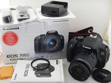 Canon 700D + 18-55mm f3.5-5.6 III 10.309 Scatti Shots Excellent + BOX Scatola