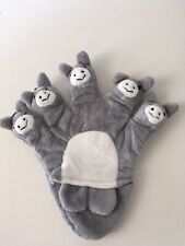 5 DONKEYS FABRIC GLOVE PUPPET EITHER HAND ROLE-PLAY/COUNTING/EDUCATION/STORIES