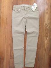 Michael Kors Khaki Stretchy Skinny Jeans - Women's Size 2 / 26 -  NWOT