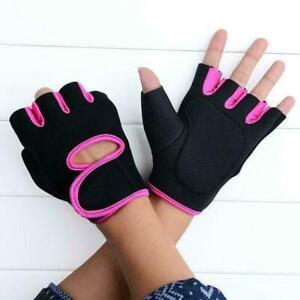 Fitness Gloves Men Women Ladies Weight Lifting Bodybuilding Training Hot N8F9